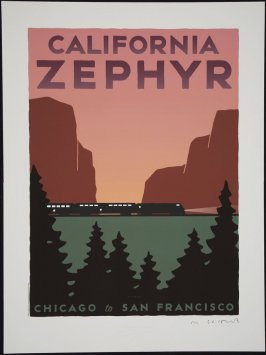 Amtrak California Zephyr: Chicago to San Francisco