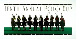 Tenth Annual Polo Cup, poster for Polo Retail Corporation