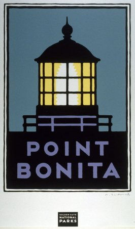 Point Bonita, from a series of posters for the Golden Gate National Parks