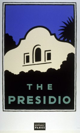 The Presidio, from a series of posters for the Golden Gate National Parks