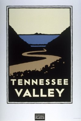Tennessee Valley, from a series of posters for the Golden Gate National Parks