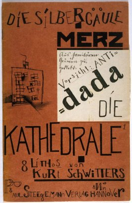 Cover, for the book Die Kathedrale by Kurt Schwitters (Hannover: Paul Steegman, 1920)