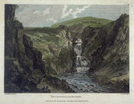 Fall of the Polufuca on the River Liffey