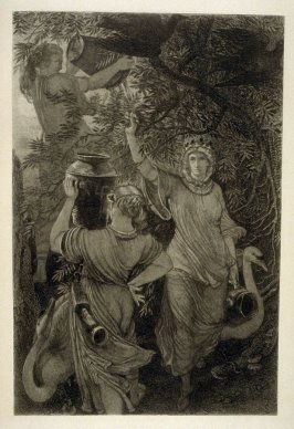 The Norns, plate 3 in the book, The Etcher (London: Williams and Norgate, 1879), vol. 1