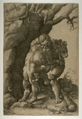 Hercules and the Nemean Lion