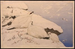 Untitled (Three White Birds)