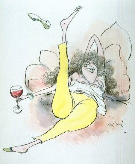 May Appeal to Those Who Like the Fuller Style, drawing for the book, Ozzie Winespeak (Moonambel, Victoria: Taltarni, 1986)