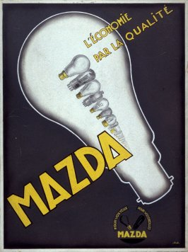 Poster Design for Mazda Light Bulbs