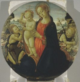 Madonna and Child with Infant, St. John the Baptist and Attending Angel