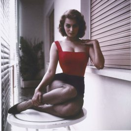 Sophia Loren at Home