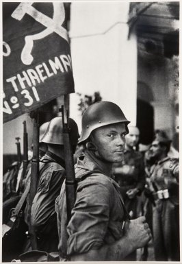 Soldier of the Ernst Thaelmann Brigade, Spain