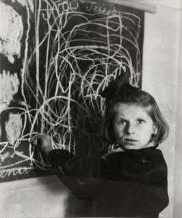 Tereska, a child in a residence for disturbed children, Poland