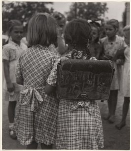 First day in school from the series Europe's Children, Hungary
