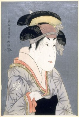 The Actor Segawa Kikunojo III , plate 5 from the portfolio Sharaku, Vol. 1 (Tokyo: Adachi Colour Print Studio, 1940)
