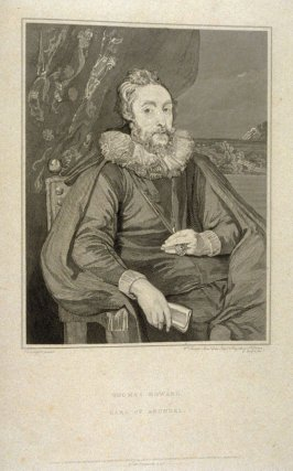 Thomas Howard, Earl of Arundel, nineteenth plate in the book, [Buchanan's Gallery], an untitled collection of engravings primarily from Select Work of Engravings (London: Historic Gallery, 1813-14)]