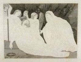 Lamentation, twenty-sixth plate in the book, [Buchanan's Gallery], an untitled collection of engravings primarily from Select Work of Engravings (London: Historic Gallery, 1813-14)]