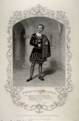 Mr. M'Kean Buchanan as Hamlet.