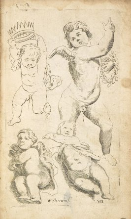 Illustration 7 in the book Polygraphice: The Arts of Drawing, Limning,Painting &c. by William Salmon (London: Thomas Passinger and Thomas Sawbridge, 1685)