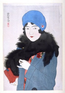 Lady in Western Costume