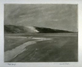 A Grey Day on the Sands of Dee