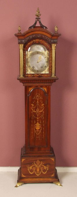 Miniature case clock