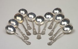 Bouillon spoon