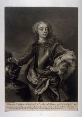 Portrait of Frederick, Prince of Kassel and Hesse
