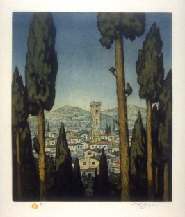 Evening in Fiesole