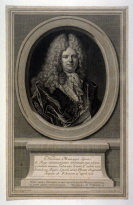 Portrait of Nicolas Mesnage, French Diplomat