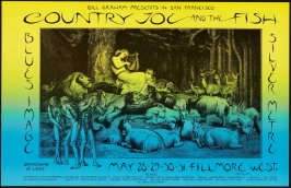 Country Joe & the Fish, Blues Image, Silver Metre, May 20 - 31, Fillmore West