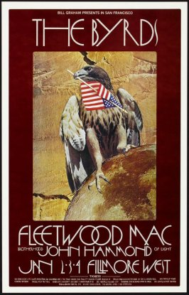 Byrds, Fleetwood Mac, John Hammond, January 2 - 4, Fillmore West