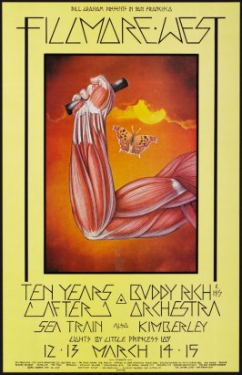 Ten Years After, Buddy Rich & His Orchestra, Sea Train, Kimberley, March 12 - 15, Fillmore West