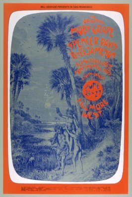 Moby Grape, Spencer Davis & Peter Jameson, Flash Cadillac & the Continental Kids, June 24 - 27, Fillmore West