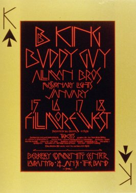 B.B. King, Buddy Guy, Allman Brothers, January 15 - 18, Fillmore West
