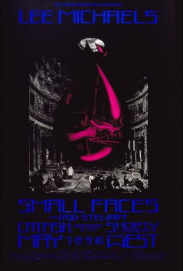 Lee Michaels, Small Faces with Rod Stewart, Catfish, Shorty with Georgie Fame, May 7 - 10, Fillmore West