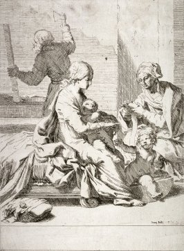 The Holy Family with the Young John the Baptist and St. Elizabeth
