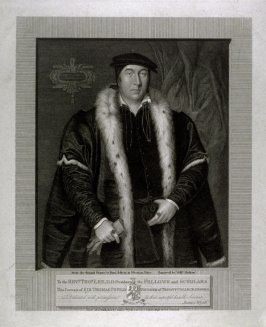 Sir Thomas Pope, Knight, Founder of Trinity College, Oxford