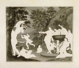 (The Bath of Diana), twenty-fourth plate in the book, [Buchanan's Gallery], an untitled collection of engravings primarily from Select Work of Engravings (London: Historic Gallery, 1813-14)]
