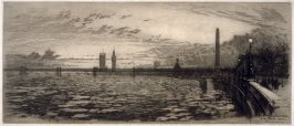 The First Winter of Cleopatra's Needle