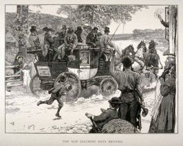The Old Coaching Days Revived - Illustration from The Graphic Portfolio 1876