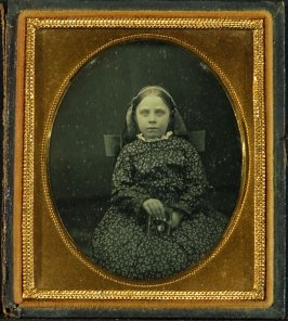 Child Holding Inlaid Case