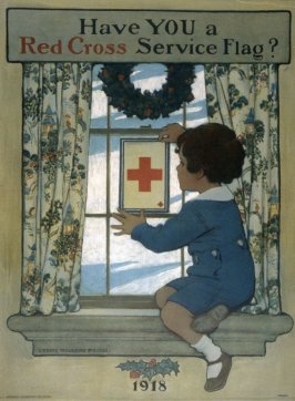 Have You a Red Cross Service Flag? - World War I Poster