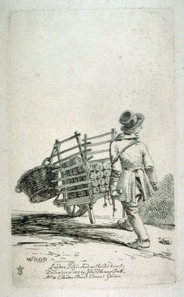 Wood, from the series 'Etchings of Remarkable Beggars'
