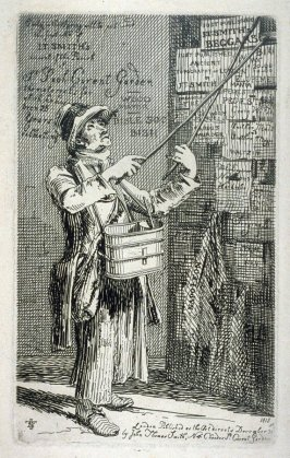 Street Trader, from the series 'Etchings of Remarkable Beggars, Itinerant Traders, and other Persons of Notoriety in London and its Environs'