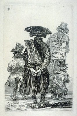 Lottery Men, from the series 'Etchings of Remarkable Beggars, Itinerant Traders, and other Persons of Notoriety in London and its Environs'