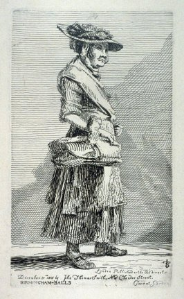 Birmingham-Balls, from the series 'Etchings of Remarkable Beggars, Itinerant Traders, and other Persons of Notoriety in London and its Environs'