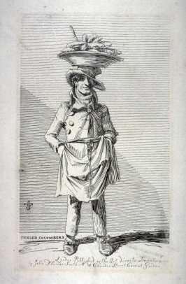 Pickled Cucumbers, from the series 'Etchings of Remarkable Beggars'