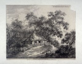 Near Egham, Surrey, from Etchings of Scenes and Environs of London & English Cottages