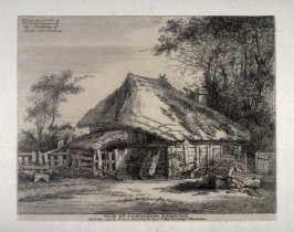 Near Mrs. Teshmaker's, Edmonton, from series of Scenes and Environs of London & English Cottages