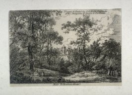 Near Tottenham, Middlesex, from Etchings of Scenes and Environs of London & English Cottages